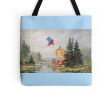 It's Drinking the Water! Tote Bag