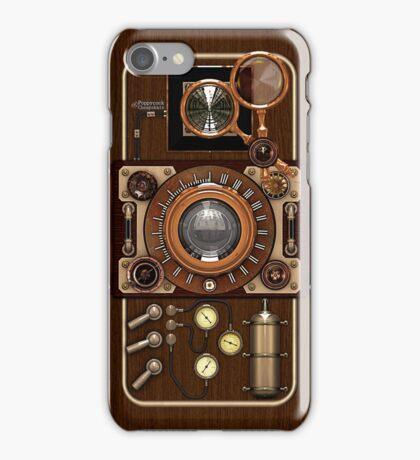 Stylish Steampunk Vintage Camera (TLR) No.1 iPhone Case/Skin