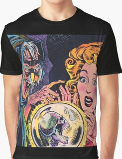 The Witch and her crystal ball Graphic T-Shirt
