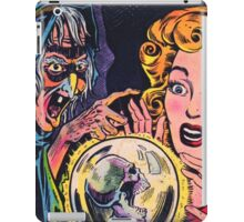 The Witch and her crystal ball iPad Case/Skin