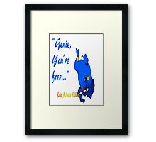 You're Free Framed Print