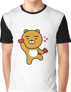 KakaoTalk Friends Hello! Ryan (카카오톡 라이언) Graphic T-Shirt