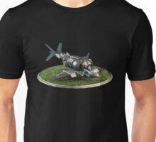 Futuristic Gunship Unisex T-Shirt