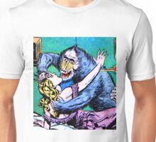 Woman Attacked by a Baboon! Unisex T-Shirt