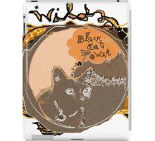 Black Cat Power  iPad Case/Skin
