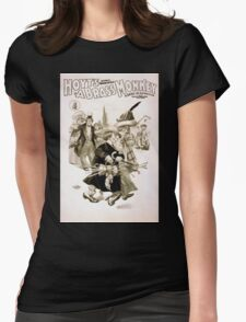 Performing Arts Posters Hoyts comic whirlwind A brass monkey a satire on superstition 1245 Womens Fitted T-Shirt