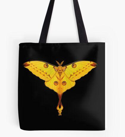 Comet Moth Painting Tote Bag