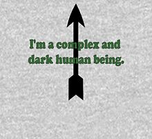I'm a complex and dark human being. Unisex T-Shirt