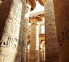 Great Hypostyle Hall, Karnak Temple by Ludwig Wagner