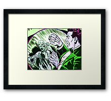 The Ghoul in the Mirror Framed Print