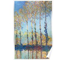 Claude Monet - Poplars On The Banks Of The Epte 1891 Poster