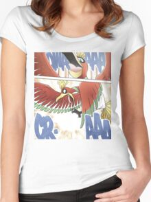 Ho-oh - Manga Edit Women's Fitted Scoop T-Shirt