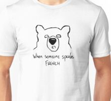 Met French Bear Unisex T-Shirt