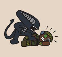 Alien vs. Marine 2 alt by kozality