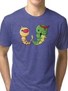 Weedle and Caterpie Tri-blend T-Shirt