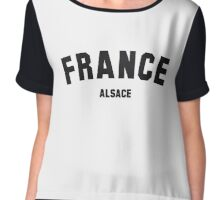FRANCE ALSACE Chiffon Top