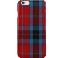 00006 Thompson/Thomson/MacTavish Dress BlueTartan  iPhone Case/Skin