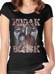 Kodak Black Finesse Kid  Women's Fitted Scoop T-Shirt