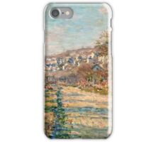 Claude Monet - Road of La Roche Guyon (1880)  iPhone Case/Skin