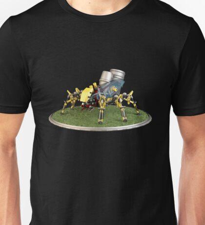 Futuristic Welder Robot Unisex T-Shirt