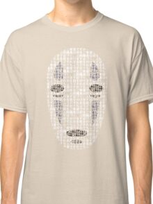 No-Face Mask Typograph Classic T-Shirt