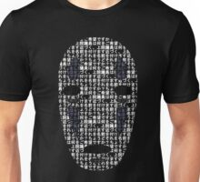 No-Face Mask Typograph Unisex T-Shirt