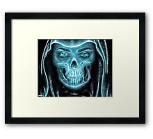 Halloween Grim Reaper Framed Print