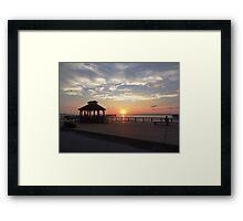Enchanting Sunset Framed Print