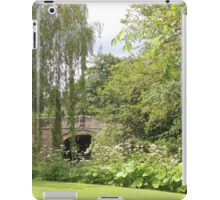 Do Not Always Walk Over A Bridge For There Is A World Around It iPad Case/Skin
