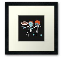 Pulp Fiction Mr.Meeseeks Framed Print