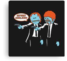 Pulp Fiction Mr.Meeseeks Canvas Print
