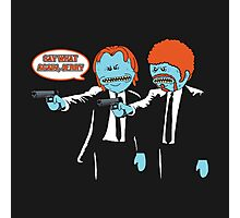 Pulp Fiction Mr.Meeseeks Photographic Print
