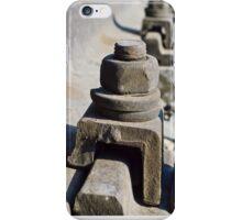rail bolt iPhone Case/Skin