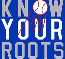 "Dodgers ""Know Your Roots"" by BeinkVin"