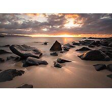 North Shore Sunset - North Shore Hawaii Photographic Print