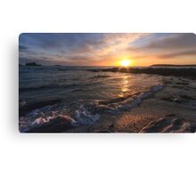 Rocky Beach at Trevone Canvas Print