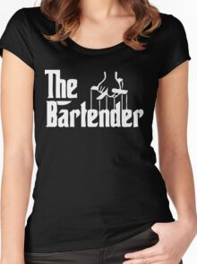 the bartender Women's Fitted Scoop T-Shirt