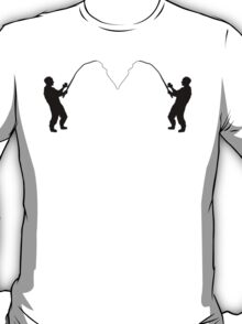 Fisherman Mirror Image T-Shirt
