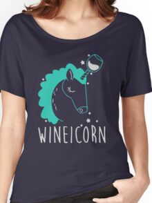 Wineicorn Women's Relaxed Fit T-Shirt
