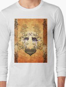 Ostrich couple Long Sleeve T-Shirt