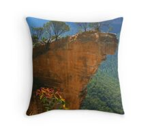 Hanging Rock at Blackheath Throw Pillow