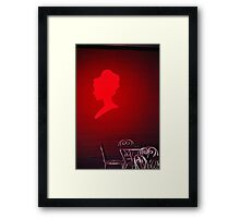 The Red Lady Framed Print
