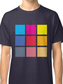 Squares of Color Classic T-Shirt
