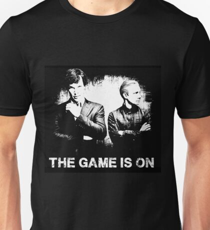 The Game Is On - Sherlock Unisex T-Shirt