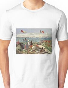 Claude Monet - The Terrace At Sainte-Adresse  Unisex T-Shirt