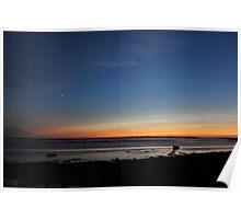 Sunset in Lower Argyle Poster