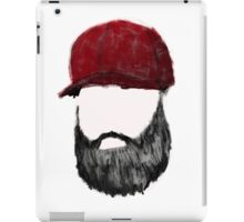 Fill in the Beards iPad Case/Skin