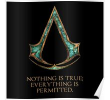 Assassins creed Lexicon mash up Poster