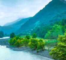 Valley River Sticker
