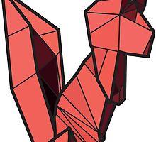 Origami Squirrel by StevePaulMyers